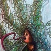 Spiraled Art Print