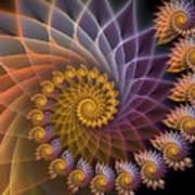 Spiralined Art Print