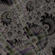 Spiraling Art Print