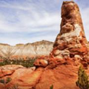 Spire Rocks At Kodachrome Basin State Park Art Print