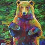 Spirit Bear Art Print
