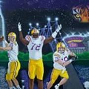 Spirit Of Baton Rouge Art Print by Hershel Kysar