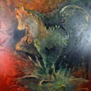 Spirit Of Mustang Art Print