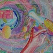 Spirit Of Piece Art Print