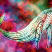 Spirit Whale 2 Art Print
