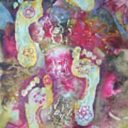 Spiritual Awakening Art Print by Vijay Sharon Govender