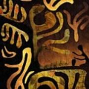 Spiritual Drummer Art Print