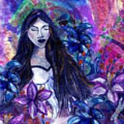 Spiritual Garden Of Hope Art Print