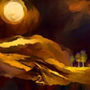 Spiritual Landscape Art Print