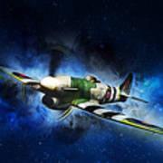 Hawker Typhoon Art Print