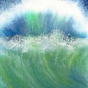 Splash Back Art Print