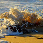 Splash Of Summer - Cape Cod National Seashore Art Print