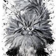 Splat Cat Art Print