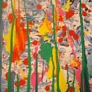 Splatter 1 Art Print