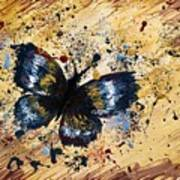Splatter Butterfly Art Print