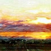 Splendor Vista Art Print