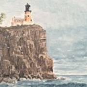 Split Rock Light House 4  Art Print