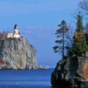 Split Rock Lighthouse - Fs000120 Art Print