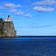 Split Rock Pano Art Print