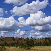 Spokane Cloudscape Art Print