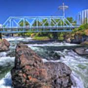 Spokane Falls 2 Art Print