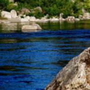 Spokane River Art Print