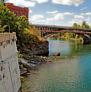 Spokane River Art Print