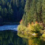 Spokane Rivereflections Art Print