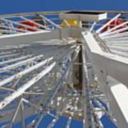 Spokes Of A Ferris Wheel Art Print