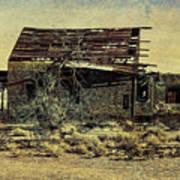 Spooky Broken House Art Print