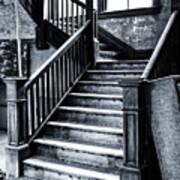 Spooky Grand Staircase Art Print