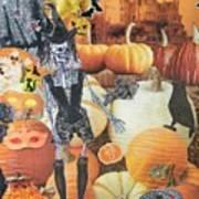 Spooky Harvest Art Print