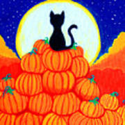 Spooky The Pumpkin King Art Print
