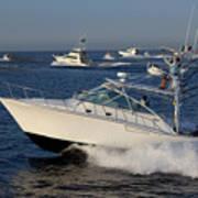 Sportfishing Boats - Cabo San Lucas Art Print