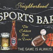 Sports Bar Art Print