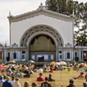 Spreckels Organ Pavilion Concert - San Diego Art Print