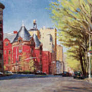Spring Afternoon, Central Park West Art Print
