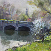 Spring At Delaware Lake Buffalo Art Print