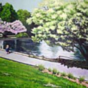 Spring At Snug Harbor Art Print