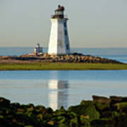 Spring At The Lighthouse Art Print
