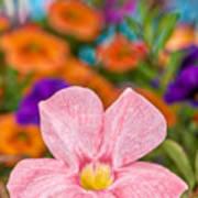 Spring Bouquet Art Print by Louis Rivera
