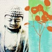 Spring Buddha Art Print by Linda Woods