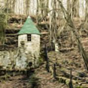 Spring Castle - Rock Island Park Tn Art 585 Art Print