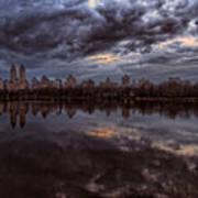 Spring Evening Central Park Nyc 2 Art Print