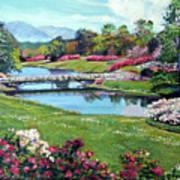 Spring Flower Park Art Print