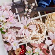 Spring Flowers Box Art Print