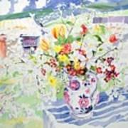 Spring Flowers On The Island Art Print