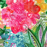 Spring Garden- Watercolor Art Art Print