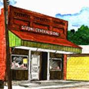 Spring General Store Sharpsburgh Iowa Art Print
