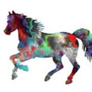 Spring Horse 2 Art Print